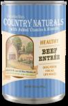 Country Naturals 燕麥糙米牛肉雞肉高纖配方狗罐頭 13.2oz