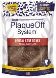 ProDen PlaqueOff System Dog Dental Care Bones Natural Bacon Flavor 17oz