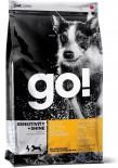 GO! 1301112 抗敏美毛系列 鴨肉全犬糧 12磅