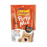 Friskies 喜躍 Party Mix 鬆脆貓小食袋裝雞肉,肝及火雞 170g