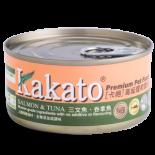 Kakato 824 三文魚+吞拿魚 170G
