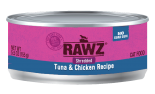 RAWZ 96% RZCTC155 吞拿魚及雞肉肉絲全貓罐頭 155g