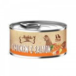 Absolute Bites [AB2531] 風味雞+三文魚 無穀物 罐頭 80g