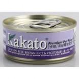 Kakato703- 雞+牛+糙米+菜 70G