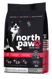 North Paw 無穀物雞肉+魚 全貓配方 貓糧 2.25kg x 2包特惠裝 (黑粉) [NPCAT2]