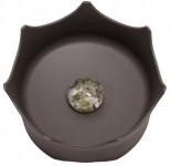 CrownJuwel - 寵物寶石碗(板岩-灰)
