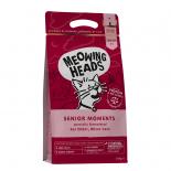 Meowing Heads [MHSM3] - 無穀物全天然年長貓配方 Senior Moments 3kg (1.5 kg x 2) (深紅色)