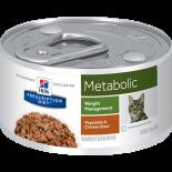 Hills 希爾思 - Metabolic獸醫配方貓罐頭-5.5oz x 24罐原箱