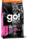 GO! SOLUTIONS 1302932 護膚美毛系列 無穀物雞肉狗糧配方 12 lb