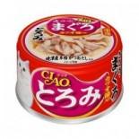 CIAO A42 雞胸肉+金槍魚+鰹魚節  貓罐頭 80g x 24罐原箱優惠
