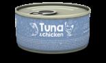 Naturea 無榖物鮮肉貓罐頭 - 吞拿魚+雞肉 80g x 12 罐同款原箱優惠