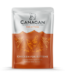 Canagan 原之選 鮮肉主食滋味包 幼貓-雞肉 85g x 8包原箱優惠