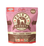 PRIMAL - Canine Frozen Formula **急凍**鮮肉狗配方 - 火雞沙甸魚 3 lb