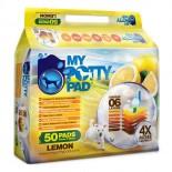 購物滿$300可 **98元換購優惠**  My Potty Pad Pad 殿堂吸寵物尿墊 (45 x 60cm  50片) - 檸檬味