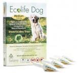 Solano -ES013 Ecolife Dog 純天然犬用驅蚤滴頸劑 一盒四支(中型犬15 ~ 30kg)