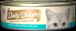 Daily Delight Pure DD46 白鰹吞拿魚+雞肉+魷魚 80g