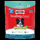 Milk Bone Brushing Chews 清潔牙齒骨 小型/中型犬 (24-49磅/ 25支)