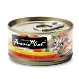 Fussie Cat FU-TLC 吞拿魚+雞肝貓罐頭 80g x 24