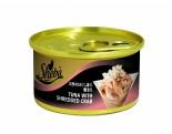 Sheba Tuna with Shredded Crab  白吞拿魚蟹肉 85g x 24罐原箱優惠