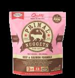 PRIMAL Feline Frozen Beef & Salmon FBF3 **急凍**鮮肉貓配方 牛及三文魚 3lb x 4包優惠