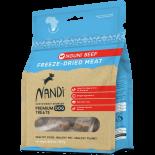 Nandi Of Africa 南非原野凍乾牛肉 狗小食 57g