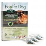 Solano -ES020 Ecolife Dog 純天然犬用驅蚤滴頸劑 一盒四支(大型犬30kg以上)