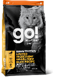 GO! SOLUTIONS 1303141 - 低敏美毛系列 鴨肉貓糧配方 3lb