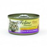 Feline Gourmet FG70-4 化毛球 吞拿魚+柴魚 80g
