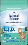 Natural Balance 雪山 - 肉食系 - 雞肉成貓糧 05lb