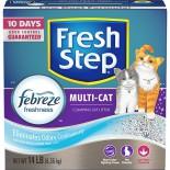 Fresh Step FSMU25 強效抗臭配方 凝結貓砂 25lb x 2 盒優惠