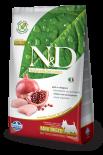 N&D CHICKEN & POMEGRANATE ADULT MINI 無穀物全犬配方 石榴&雞肉 (細粒) 07kg