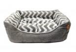 軟綿方型床仔(灰色)