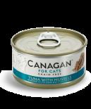 Canagan 貓用無穀物吞拿魚+青口配方罐頭 75g