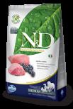 N&D LAMB & BLUEBERRY ADULT MEDIUM 無穀物全犬配方 藍莓&羊肉 (中粒) 02.5kg