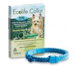 Solano - Ecolife Collar 純天然犬用驅蚤頸帶 (up to 8kg) (粉紅色 / 藍色)