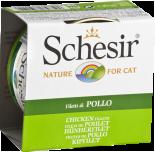 SchesiR 啫喱系列160 雞肉絲飯貓罐頭 85g