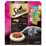 Sheba 貓小食 SDU-23 海鮮4種味 20G x 12包