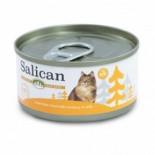Salican 挪威森林 白肉吞拿魚+鯷魚 啫喱貓罐頭 85g