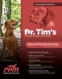 Dr.Tim's 全天然無穀物防敏感成犬糧 三文魚 05磅