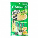 CIAO D-105 綜合營養 雞肉 肉醬 狗小食14g (4本) x 2包優惠