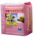 Golden 2呎 強力吸濕除臭厚型寵物尿墊 60x45 50片 x 4包同款優惠