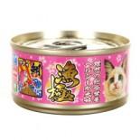Akika 漁極 - AY24 金槍魚+紅鯛魚 貓罐頭 80g x 6罐優惠
