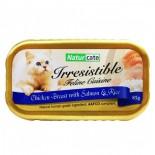 Naturcate [NC85-10]- 雞胸肉+三文魚+飯 85g