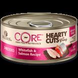 Wellness CORE 8004 厚切白魚三文魚無穀物貓罐頭 5.5oz x 24罐原箱優惠