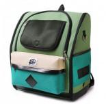 DOGISMILE 學院風寵物雙肩背包 (綠)