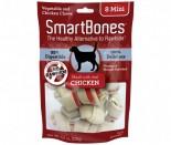 SmartBones - 雞肉味迷你mini潔齒骨 (8條) x 2