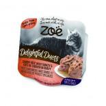 Zoe ZO504 開心雙層法式貓餐盒 - 火雞肉佐雞肉塊 80g