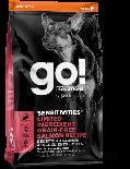 GO! SOLUTIONS 1303112 低敏美毛系列 三文魚狗糧配方 12 lb