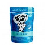 Meowing Heads [MHWSS] - 無穀物Surf & Turf 主食濕包 100g