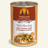 WERUVA 002616 狗罐頭 Wok The Dog 無骨去皮雞胸肉、澳洲牛肉、南瓜 14 oz